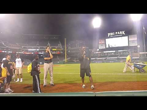 Andrew McCutchen - Faith Night at PNC Park 8/1/13