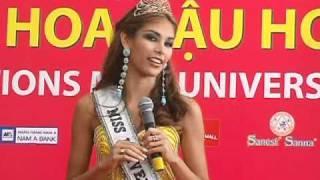 Miss Universe 2008 Vietnam Presentación De Dayana