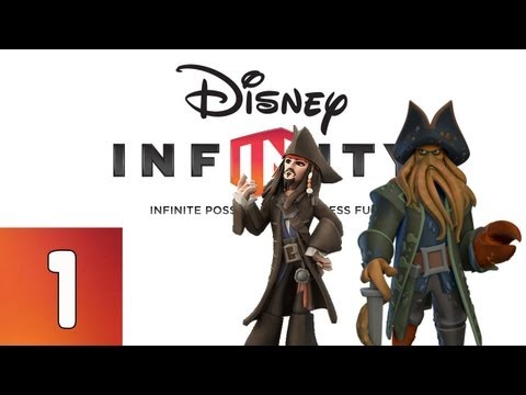 Disney Infinity: Pirates of the Caribbean - Part 1 (Walkthrough, Gameplay, Commentary)