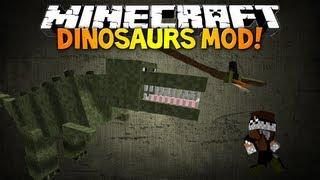 Minecraft: DINOSAURS MOD! Pre Historic & Ice Age