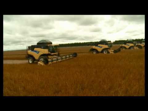 Making Of - New Holland - 20 colheitadeiras CR9060