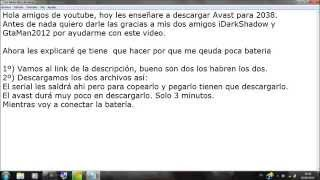 Descargar Avast Full 2012 Hasta 2038 + Serial [2012]