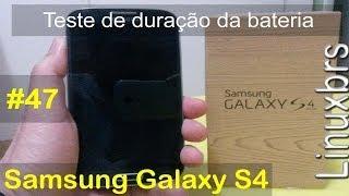 Samsung Galaxy S4 I9505 Duração Da Bateria (teste