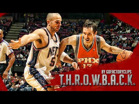 Throwback: Steve Nash vs Jason Kidd Full Duel Highlights 2006.12.07 Suns at Nets 2OT - MUST SEE!