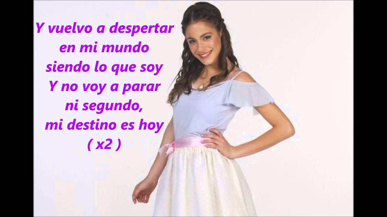 Violetta en mi mundo paroles youtube - Musique de violetta gratuit ...