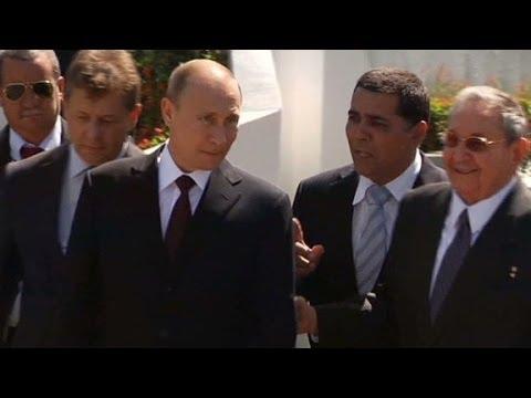President Vladimir Putin visit Cuba