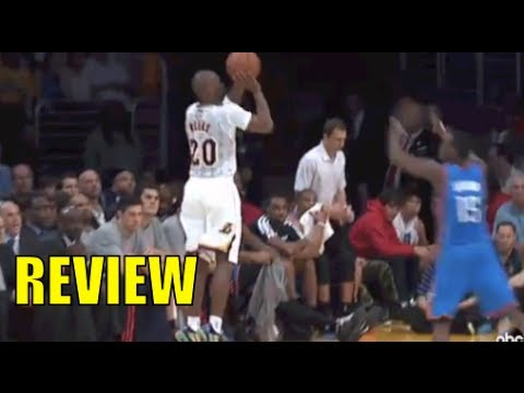 Thunder vs. Lakers - Jodie Meeks Back To Back Three Pointers 03-09-2014 REVIEW