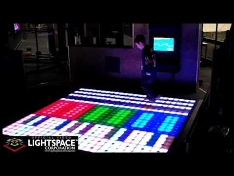Music Maker Activity - Lightspace Active Gaming