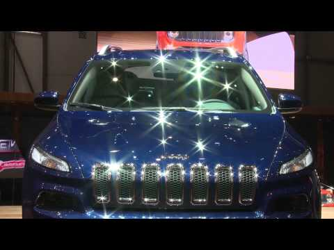 Jeep Cherokee at Geneva Auto Show 2014