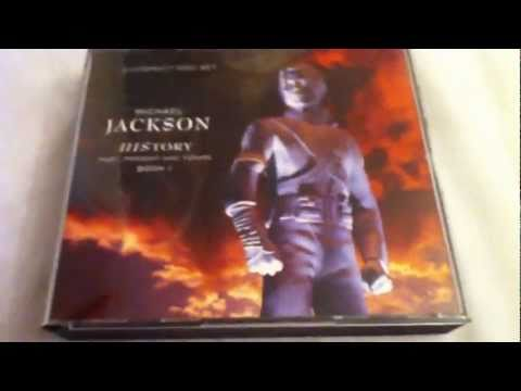 Michael Jackson HIStory Past, Present And Future, Book I (Uncensored Version) CD Unboxing