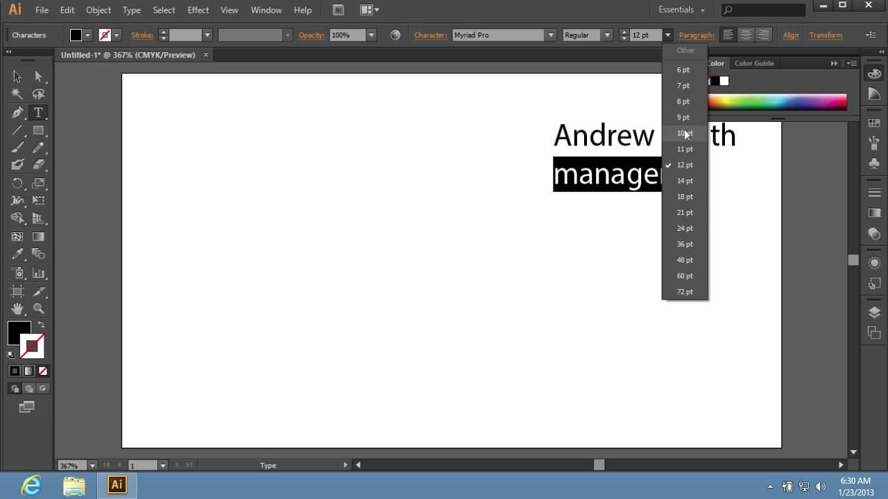 How to create adobe illustrator cs6 templates youtube for Adobe illustrator templates free