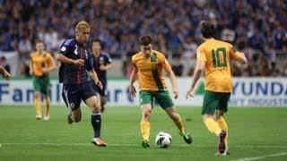 Japan Vs Australia: FIFA World Cup 2014 Asian Qualifiers