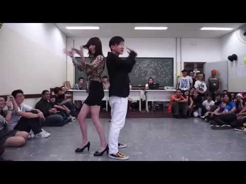 Sexy   Trouble Maker dance version nam học sinh và nữ giáo viên