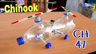 How to make CH-47 Chinook Electric Helicopter | Full Tutorial