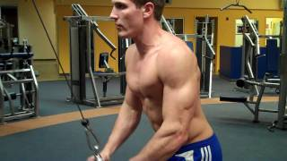 How To: Tricep Pushdown (Life Fitness Cable)