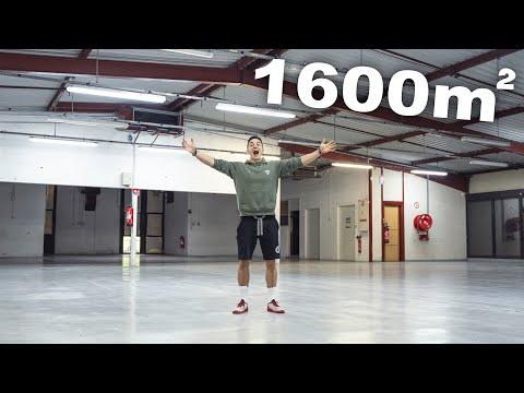 MON NOUVEAU LOCAL DE 1600m2 !! par Tibo InShape.