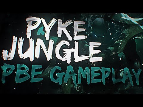 PYKE JUNGLE GAMEPLAY FR PBE - League of Legends Nouveau Champion