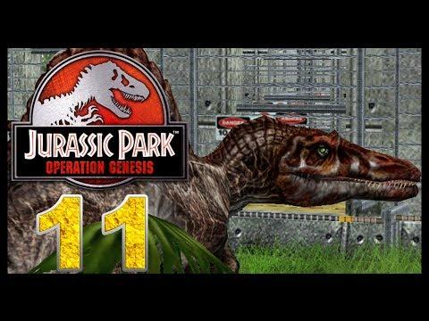 Jurassic Park: Operation Genesis - Episode 11 - Spinosaurus and Tyrannosaurus