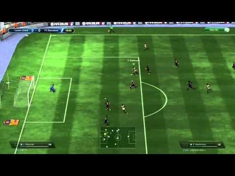 Hướng dẫn kỹ thuật ngoặt bóng 90 độ qua người - Fifa online 3