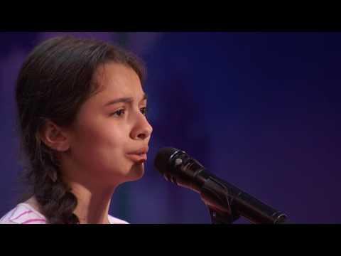 Cô bé 13 tuổi hát OPERA cực đỉnh nhận được nút vàng tại America's Got Talent 2016