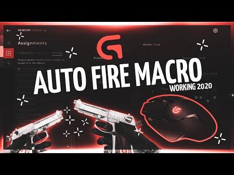 CSGO Autofire Macro On Logitech Mouse 2020   Undetected