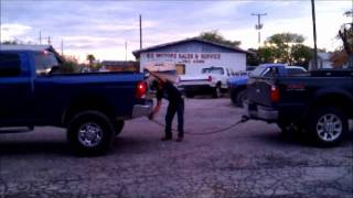 2010 DODGE 2500 Vs 2008 FORD F-350