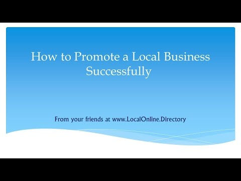 Small business marketing opportunity