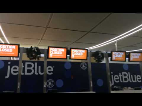 JetBlue suspends operations at NY, Boston airports