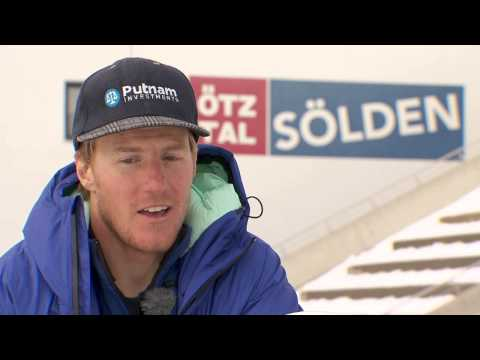 Ted Ligety Interview - FIS Ski-Weltcup Sölden (engl. Version)