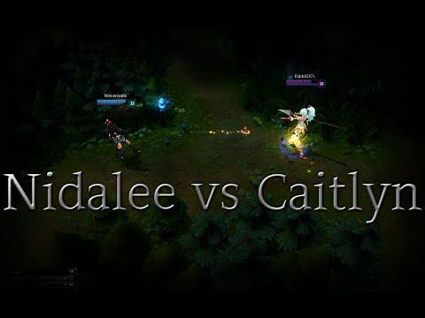 Pha Đấu Trí Cân Não Giữa Nidalee Và Caitlyn, Kết Quả Là..?