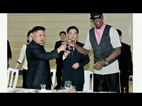 Sport gets forgotten on N. Korea trip as Rodman's TV interview sparks fury