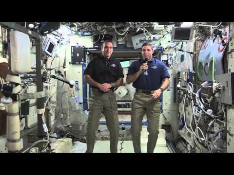 Space Station astronauts: #LetsMove