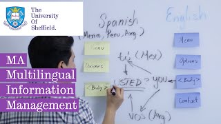 MA Multilingual Information Management - video