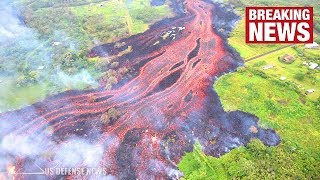 Hawaii's Volcano Eruptions Intensify as Fissures Merge to Form Massive Lava River