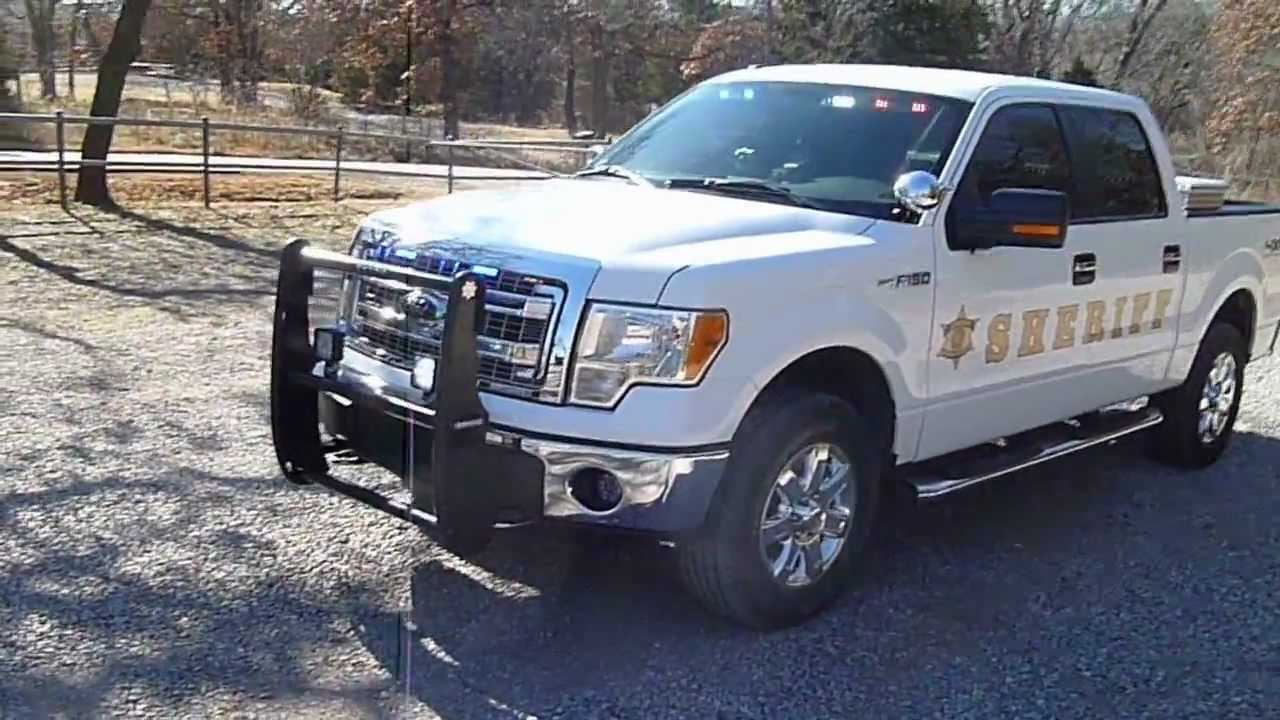 2012 Ford F150 Police Truck Youtube