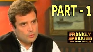 Frankly Speaking With Rahul Gandhi Part 1