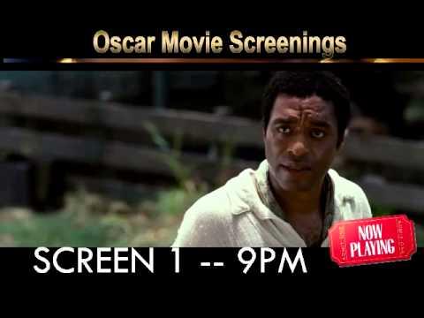 Paradise Theater Oscar Movie Screening (12 years a slave & Dallas Buyers Club)