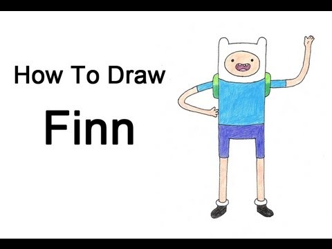 how to draw adventure time step by step