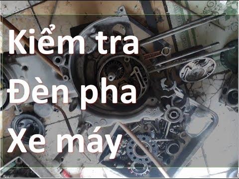 kiểm tra mạch đèn pha xe máy