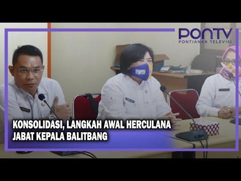 Konsolidasi, Langkah Awal Herculana Jabat Kepala Balitbang