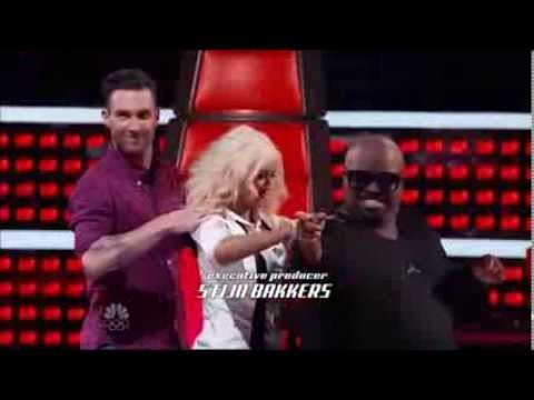 The voice 5 moments- Christina Aguilera