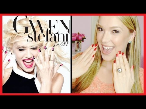 Gwen Stefani for OPI Nail Polish Collection Swatch and Review