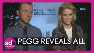 Star Trek: The Truth about Benedict Cumberbatch from Simon Pegg and Alice Eve