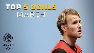TOP 5 Goals March - Ligue 1 / 2013-2014