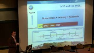 Material Genome Initiative Panel Discussion: Program Agency Visions for the MGI