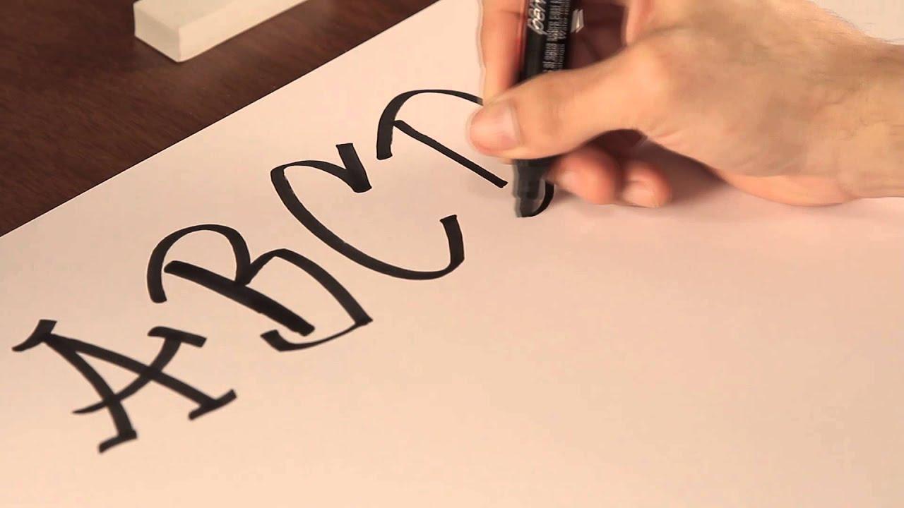 C mo dibujar letras de graffiti tips de dibujo youtube - Letras para dibujar ...