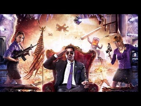 Saints Row 4 - E3 2013 Gameplay Walkthrough