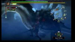 Monster Hunter Tri Lagiacrus 10min Kill