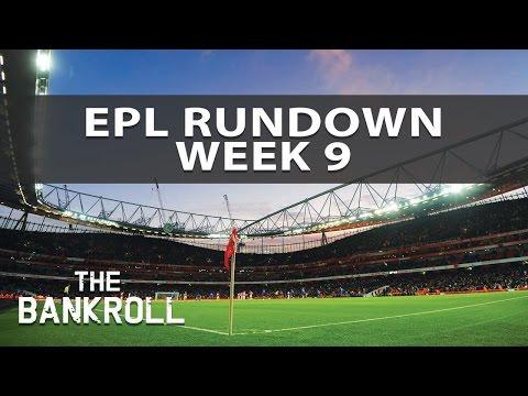 Premier League 2016/17 Rundown | Week 9 | Predictions