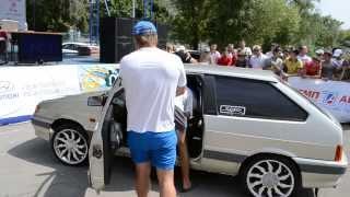 ЭММА 2013 Ростов класс мастер стена ВАЗ-2113 1 место БеZпредел34